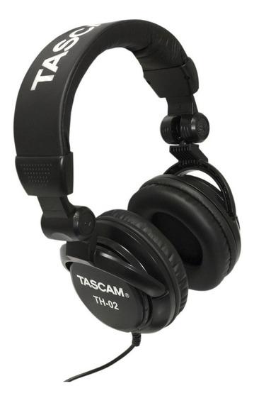 Fone De Ouvido Studiotascam Th-02 Headphone Profissional