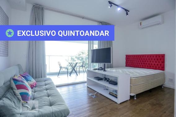 Apartamento No 5º Andar Com 1 Dormitório E 1 Garagem - Id: 892947707 - 247707