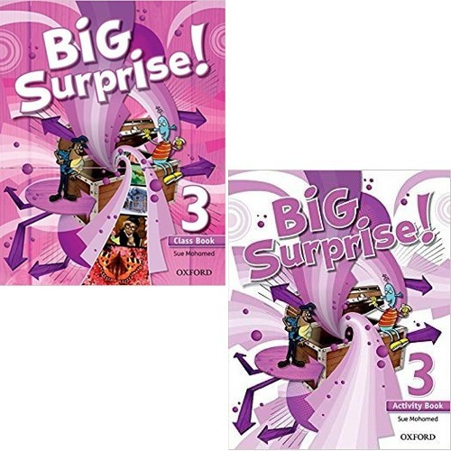 Big Surprise 3 - Class Book And Activity Book - Oxford