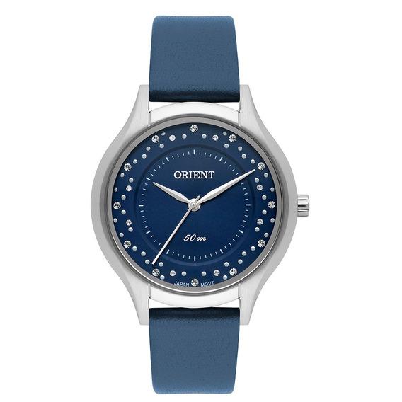 Relógio Orient Feminino Pul. Couro Lançamento + Frete Grátis