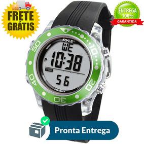 Relógio Pyle De Mergulho Profissional Waterproof Verde