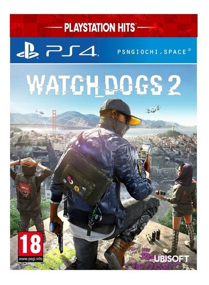 Watch Dogs 2 De Ps4 Mídia Digital Promoção Mídia Primaria