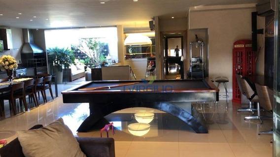 Apartamento Triplex Com 4 Dormitórios À Venda, 400 M² Por R$ 1.399.000,00 - Setor Nova Suiça - Goiânia/go - At0004