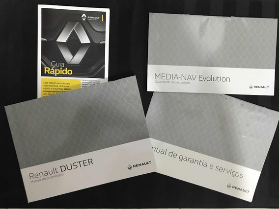 Manual Proprietário Renault Duster 16/17/18