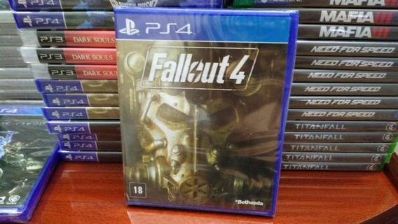 Fallout 4 Ps4 Mídia Física Novo Em Português Lacrado