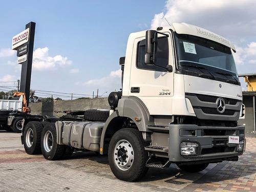 Mercedes Axor 3344 S 2016  6x4 = 2640 460 540 500 Automatico