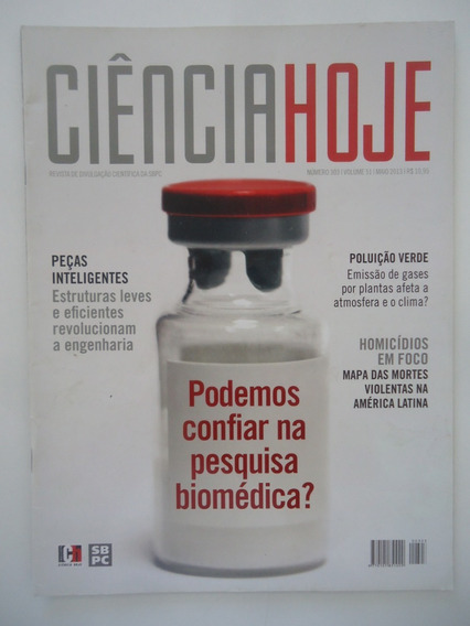 Ciência Hoje #303 Pesquisa Biomédica