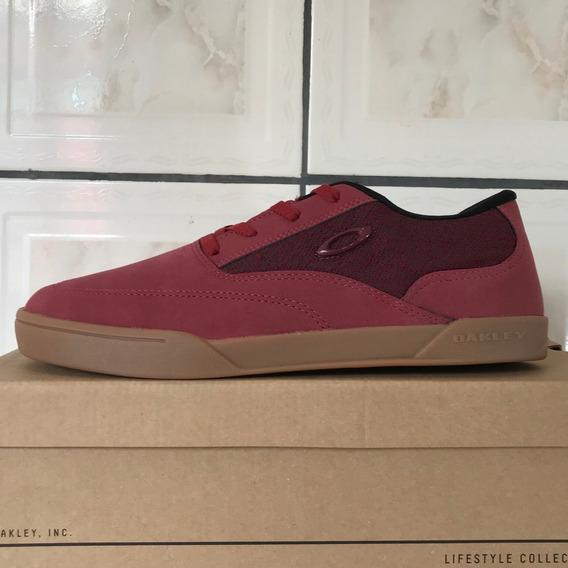Tênis Oakley Frequency New Crimson Vermelho Original