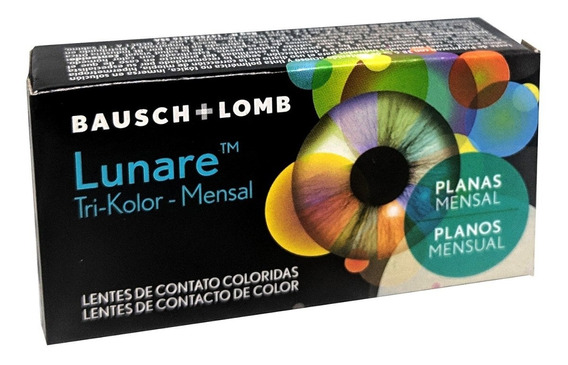 Lentes De Contacto Color Bausch & Lomb Lunare 2 Pzas Mensual