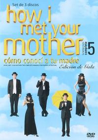 How I Met Your Mother Como Conoci Tu Madre Temporada 5 Dvd