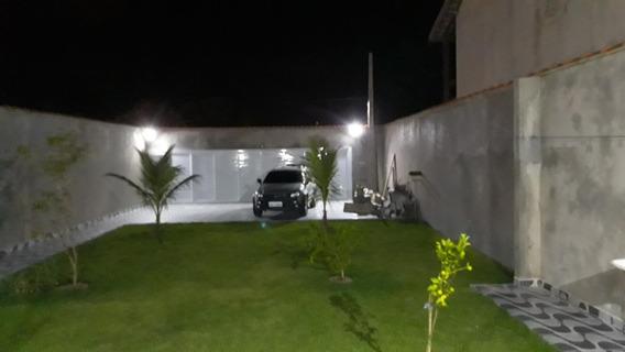 Casa Nova Com Terreno De 250 Metros De Terreno Todo Murado.