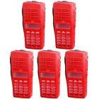 Lot 5 Red Kit Front Housing Cover Case With Full-keyboard Fo