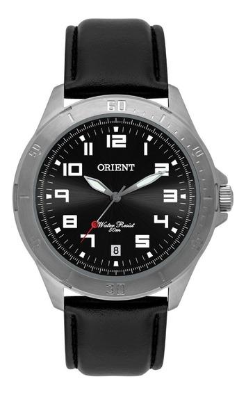 Relógio Orient Masculino Mbsc1032 G2px Preto Couro Oferta