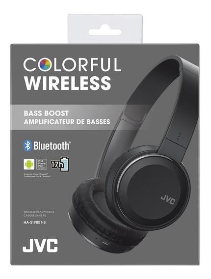 Audifono Bluetooh Jvc Colorful Ha-s190bt-b