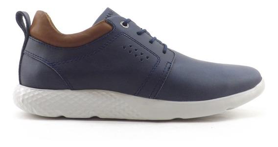 Zapatillas Zapato Marsanto Casual Urbana Hombre Cuero 0551