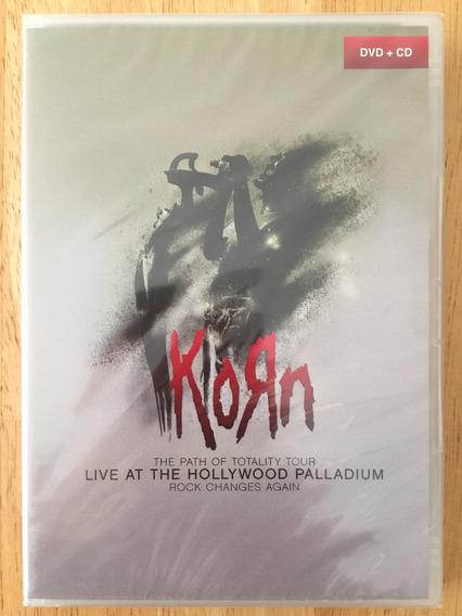 Dvd + Cd Korn Live At The Hollywood Palladium - 1ª Edição!!!