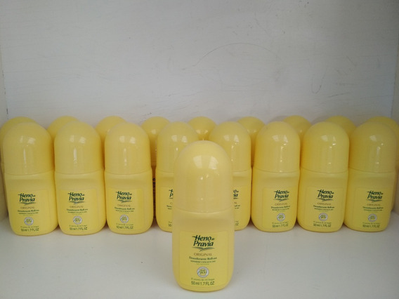 Heno De Pravia 12 Pack Desodorante Roll-on 50 Ml. 1.7 Oz.