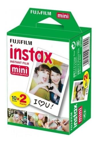Film Pack Fuji Instax Mini 8-9 Fujifilm 20 Films Película