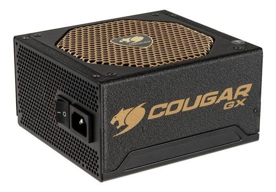 Fonte De Alimentação Atx 600w Real 80plus Gold Cougar Gamer