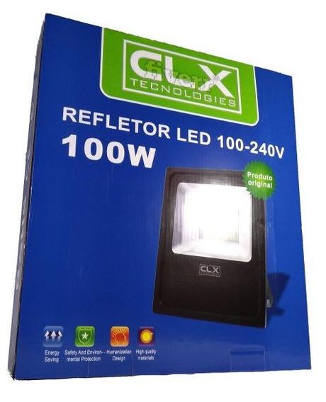 Refletor Led 100-240v - 100w