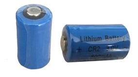 Bateria Cr2 3v 800mah Cr15266 De Lítio Recarregável Kit 2pçs