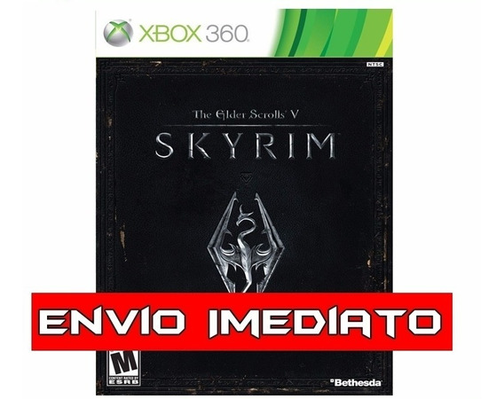 The Elder Scrolls V Skyrim Xbox 360 - Mídia Digital