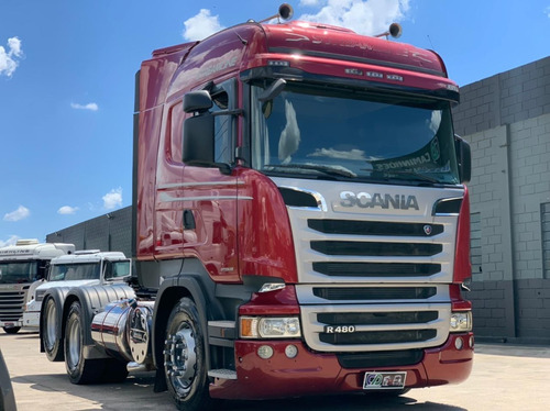 Scania Highiline Stremeline R480 6x2 2015 Automatica Top/ Fh