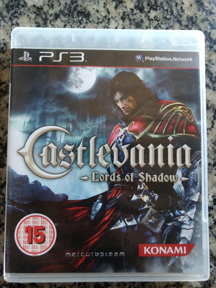 Castlevania : Lords Of Chadow Ps3 Fisico .