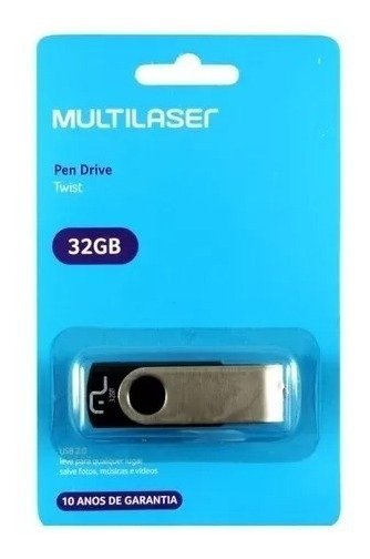 Pendrive Multilaser 32gb Pd589