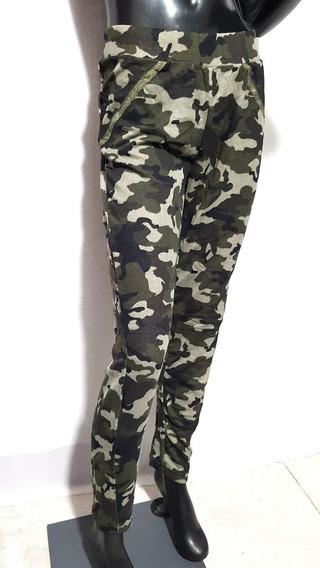 Calza Leging Camuflada Verde Militar