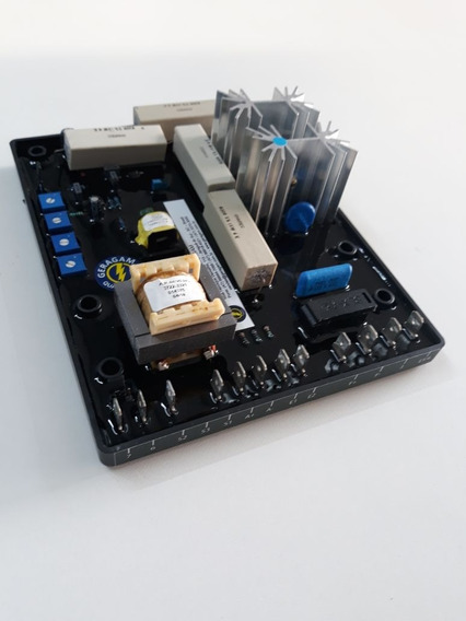 5x Regulador Tensão Avr Excitatriz Grt7 Th4e Gerador Gavr7