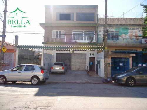 Sala Comercial Para Locação, Jardim Marisa, São Paulo. - Sa0102