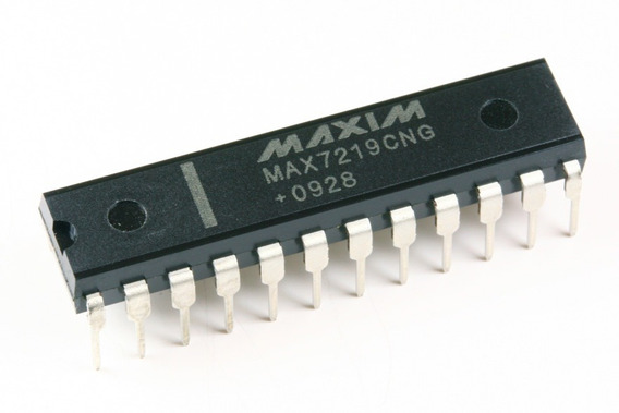 Circuito Integrado Max7219 Max7219cng Driver Display Arduino