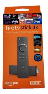 Amazon Fire Tv Stick 4k Alexa Firetv 2019 +1 Mes Gratis