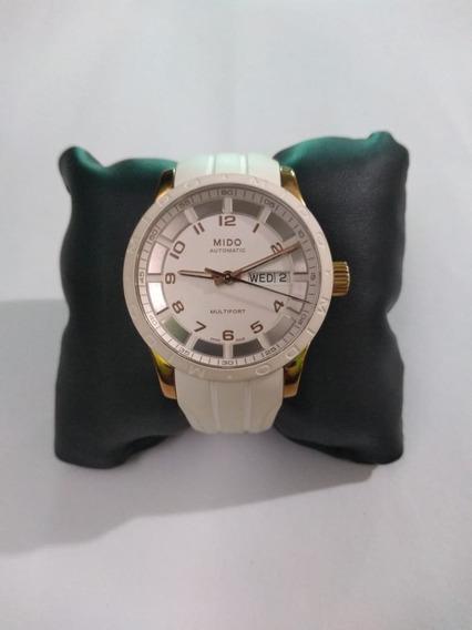 Reloj Mido Multifort Automatic White Dial Unisex