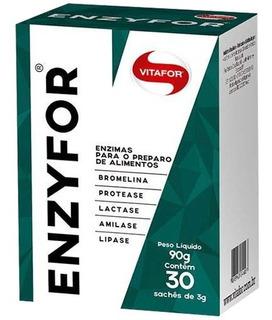 Enzyfor 30 Sachês - Vitafor - Enzimas Digestivas