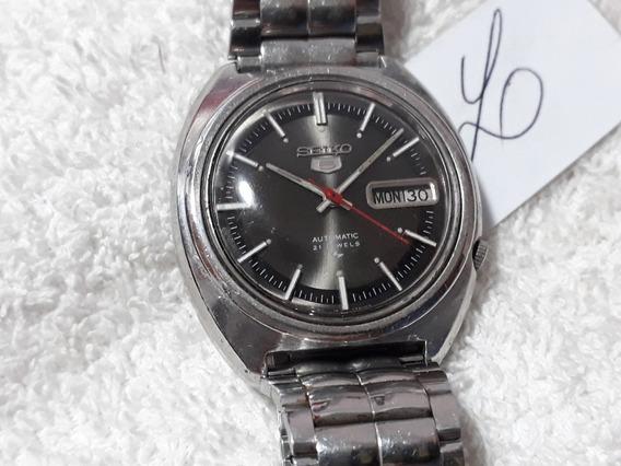 Relógio Seiko 7019 Masculino, Automático - Anos 70 (cnz)