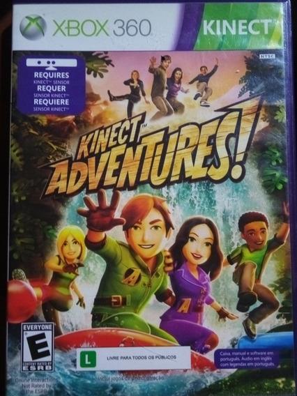 Jogo Usado Xbox 360 Kinect -kinect Adventure!