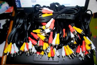 Cables Rca De 1.5 Mtrs (40 Unds)