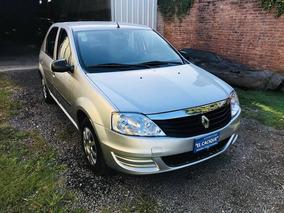 Renault Logan 1.6 Confort I 90cv Modelo 2013 Color Plata