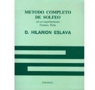 Metodo Solfeo De Hilarion Eslava Vol.1 Y 2