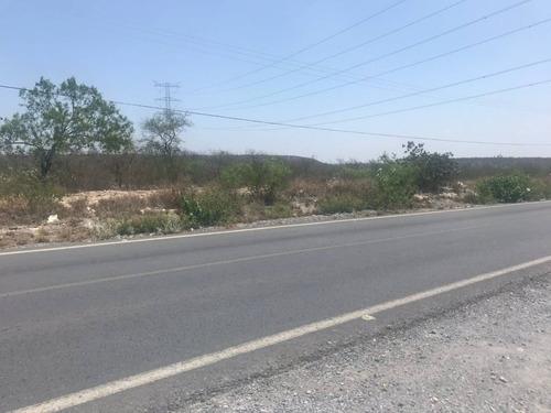 Imagen 1 de 12 de Excelente Oportunidad Terreno En Venta A Pie De Carretera - El Carmen Nl