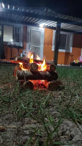 Imagem 1 de 9 de Casa Na Praia Na Barra Do Ribeira! R$197 A Diária