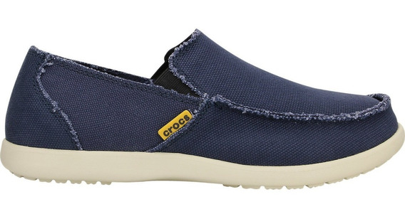 Zapatos Crocs Hombre Santa Cruz Navy Stucco