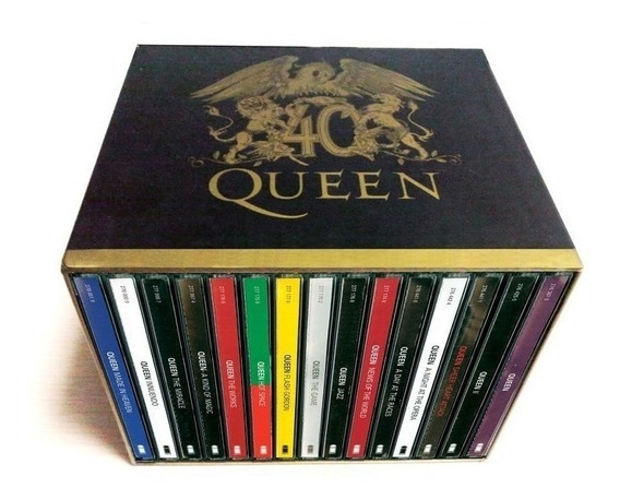 Box Queen 40 Anos The Complete 15 Cds Duplos - Vi