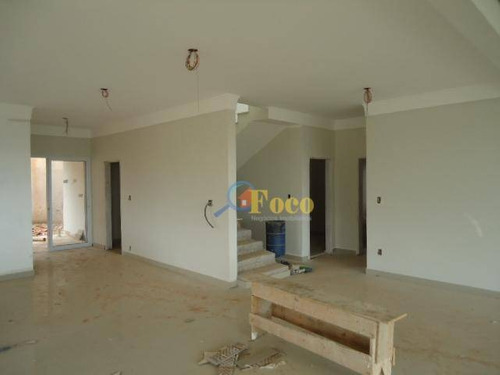 Imagem 1 de 23 de Casa Com 4 Dormitórios À Venda, 500 M² Por R$ 1.400.000,00 - Condomínio Itatiba Country Club - Itatiba/sp - Ca0167