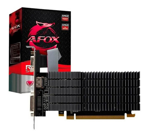 Placa De Vídeo Afox Amd Radeon R5 220 1gb Ddr3