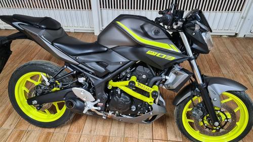 Yamaha Mt-03 Abs Night Fluo 321cc 2019 + Acessórios