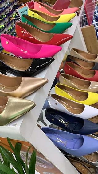 Zapatos Estiletos Importados Varios Colores Negro