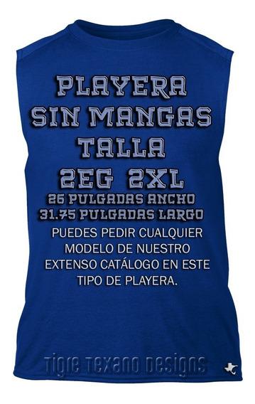 Playera 2xl Sin Manga Cualquier Modelo Catálogo Tigre Texano